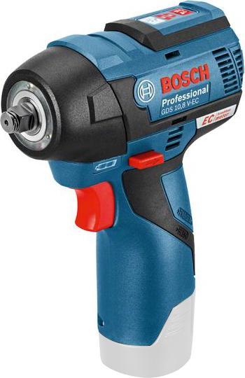 Гайковерт аккумуляторный Bosch Gds 10.8 v-ec (0.601.9e0.101) гайковерт электрический bosch gds 30 0 601 435 108 ударный