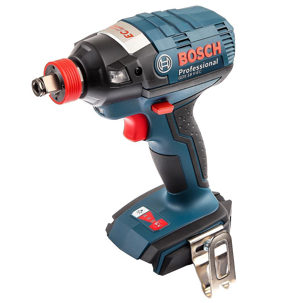 Гайковерт аккумуляторный Bosch Gdx 18 v-ec (0.601.9b9.102)