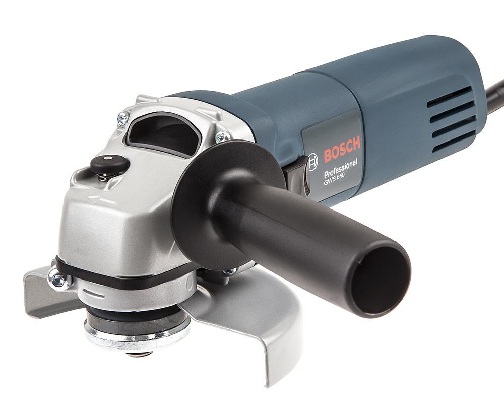 УШМ (болгарка) Bosch Gws 660 professional (0.601.375.08n) шлифовальная машина bosch gss 230 ave professional