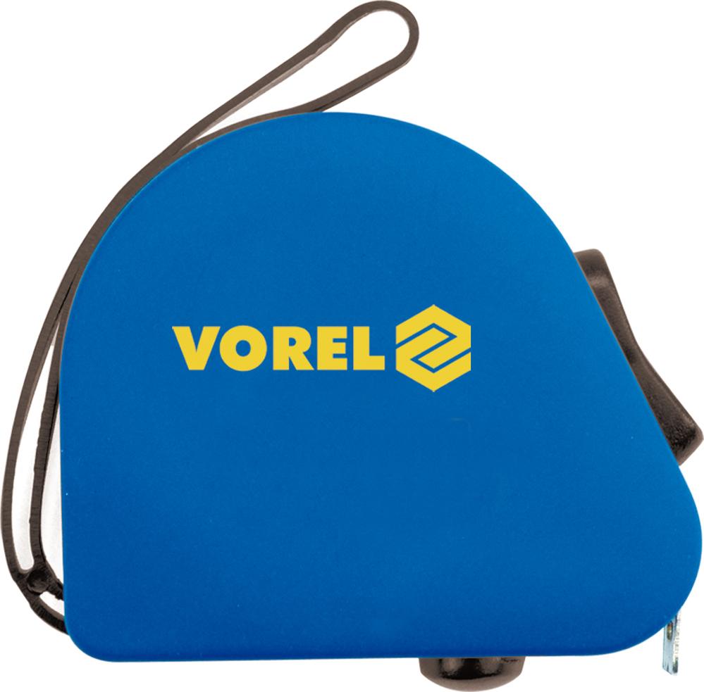 Рулетка Vorel 10139 ключ торцевой vorel l типа 17мм