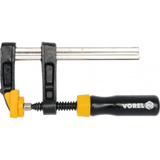 Струбцина Vorel 37113 ключ торцевой vorel l типа 17мм