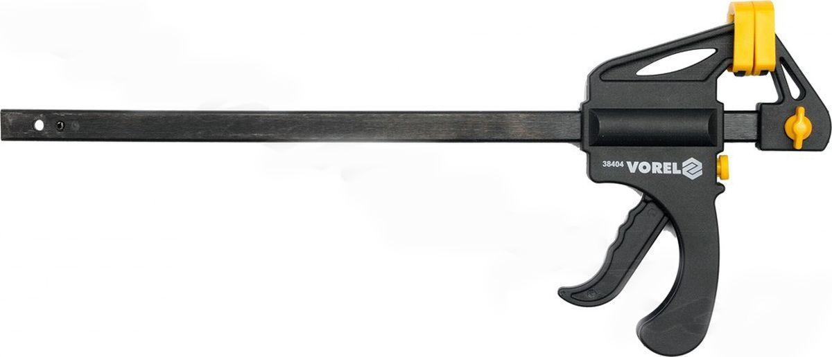 Струбцина Vorel 38404 ключ торцевой vorel l типа 17мм