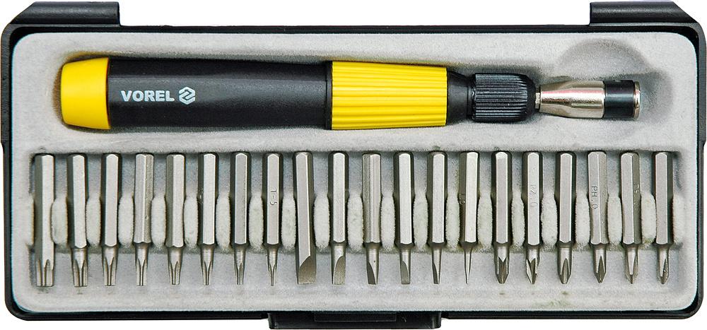Набор бит Vorel 64370 ключ торцевой vorel l типа 17мм