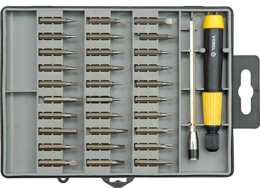 Набор бит Vorel 64371 набор ключей vorel 56478