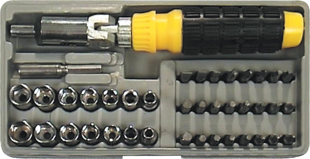 Набор бит Vorel 65170 набор бит vorel 66080