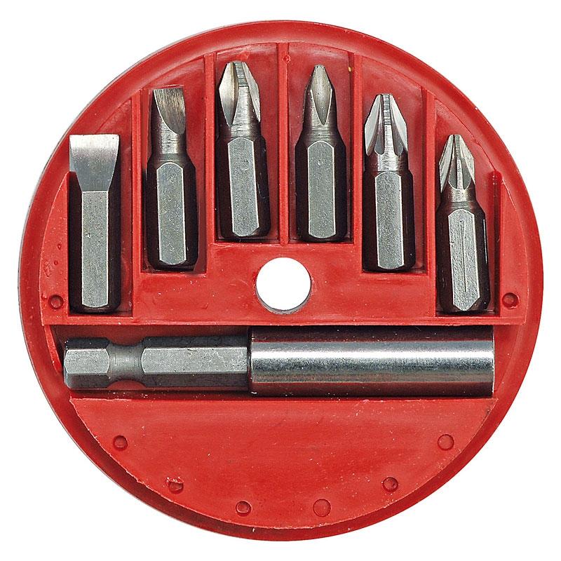 Набор бит Vorel 66080 набор ключей vorel 56478