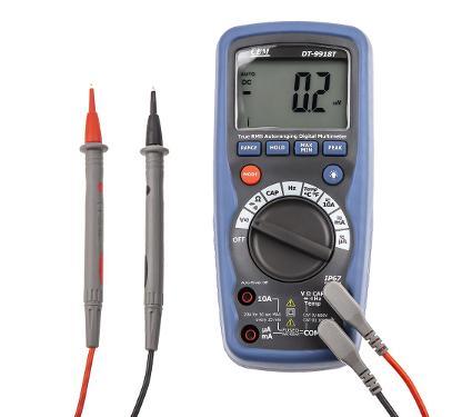 Мультиметр цифровой CEM DT-9918T