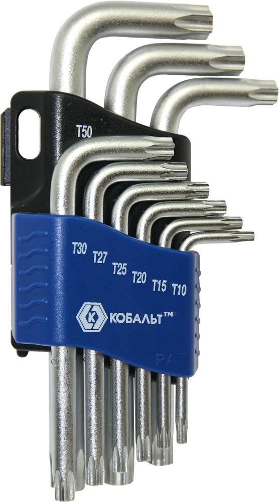 Набор ключей КОБАЛЬТ 020406-09 набор г образных ключей торкс t10 t50 9шт jtc 5354