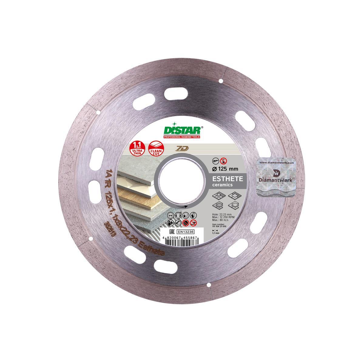 Круг алмазный Di-star 11115421010 диск алмазный турбо 200x25 4 di star