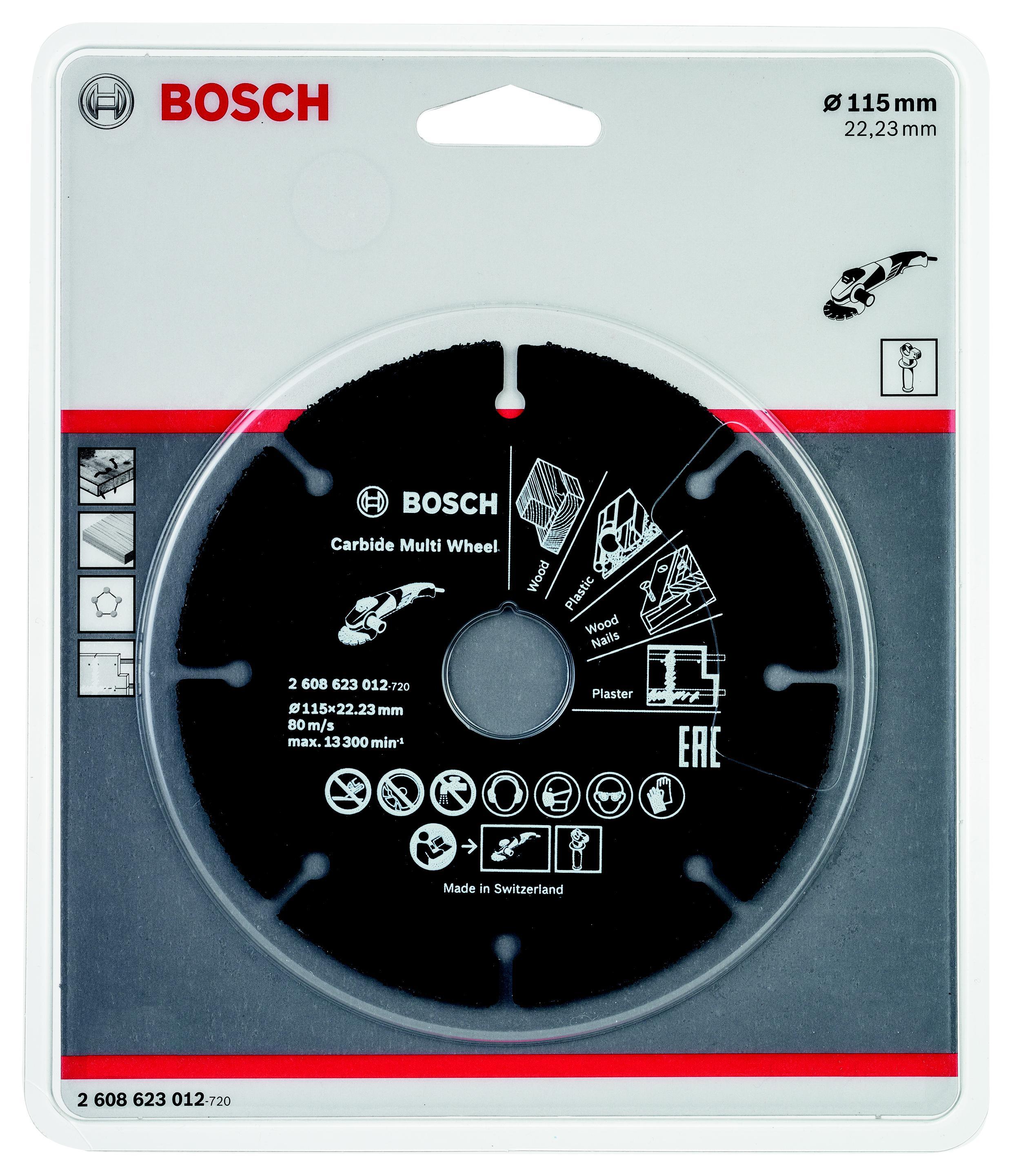 Картинка для Круг отрезной Bosch 115х22 (2.608.623.012)
