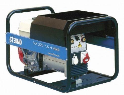Бензиновый сварочный генератор Sdmo Vx 220/7,5h сварочная sdmo weldarc 200