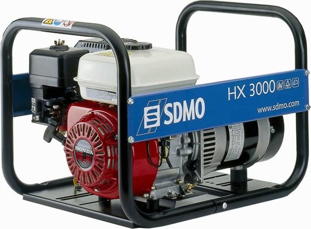 Бензиновый генератор Sdmo Hx 3000 С sdmo vx 220 7 5h s