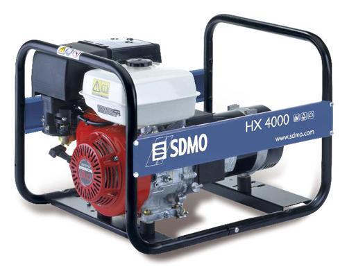 Бензиновый генератор Sdmo Hx 4000 С sdmo hx 7500 t avr ip54