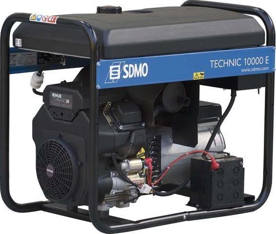 Бензиновый генератор Sdmo Technic 10000 e sdmo vx 220 7 5h s