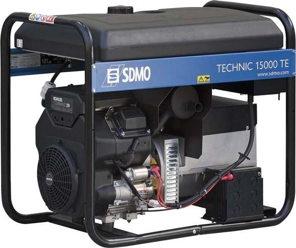 Бензиновый генератор Sdmo Technic 15000 te sdmo weldarc 200