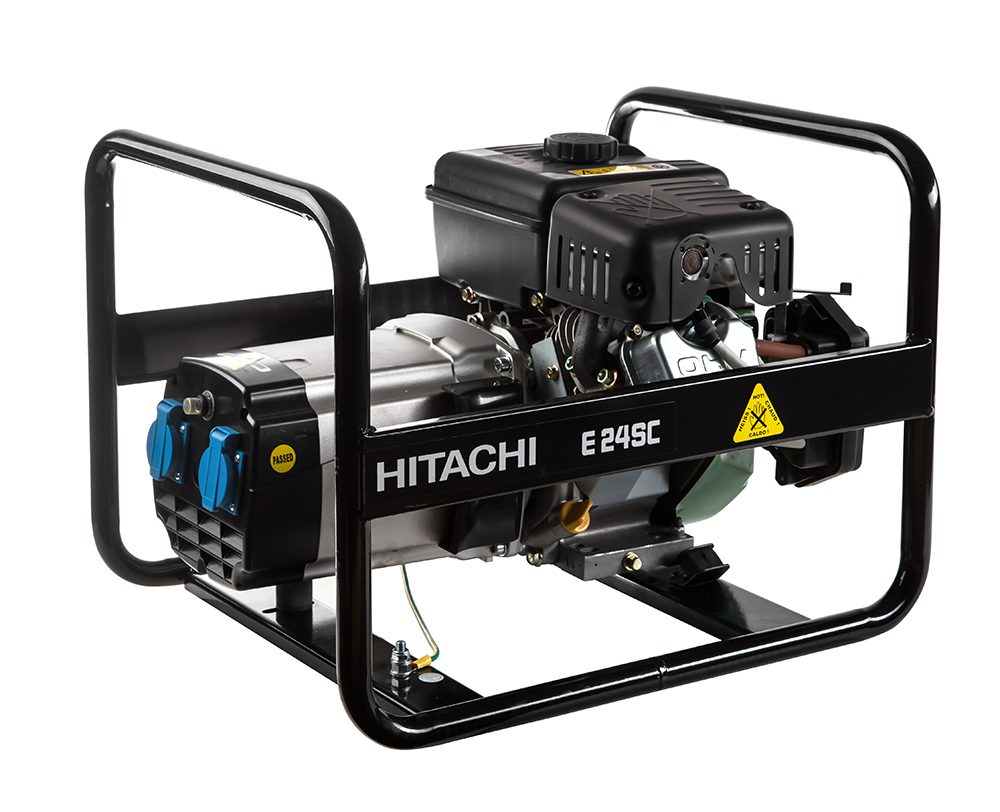 Бензиновый генератор Hitachi E24sc бензиновый бензиновый генератор hitachi e40 зр
