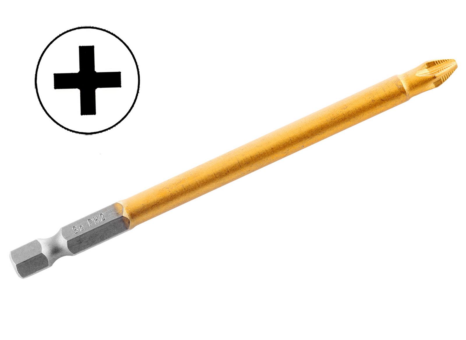 Бита Hammer Pb ph-2 100мм (1шт.) фрезер hammer flex frz1200b