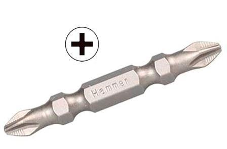 Бита Hammer Pb ph-2*pz-2 50мм (1шт.) набор бит hammer pb набор no1 7шт ph pz sl