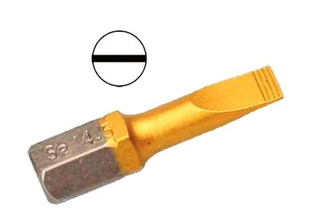 Бита Hammer Pb sl-1,2*6,5 25мм (1шт.) бита hammer pb pz 2 50мм 2шт