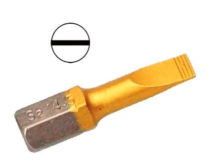 Бита Hammer Pb sl-0,6*4,5 50мм (1шт.) бита hammer pb sl 1 2 6 5 25мм 1шт