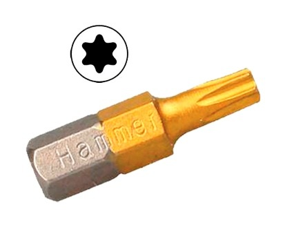 Бита Hammer Pb tx-20 25мм (1шт.) бита hammer pb pz 2 50мм 2шт