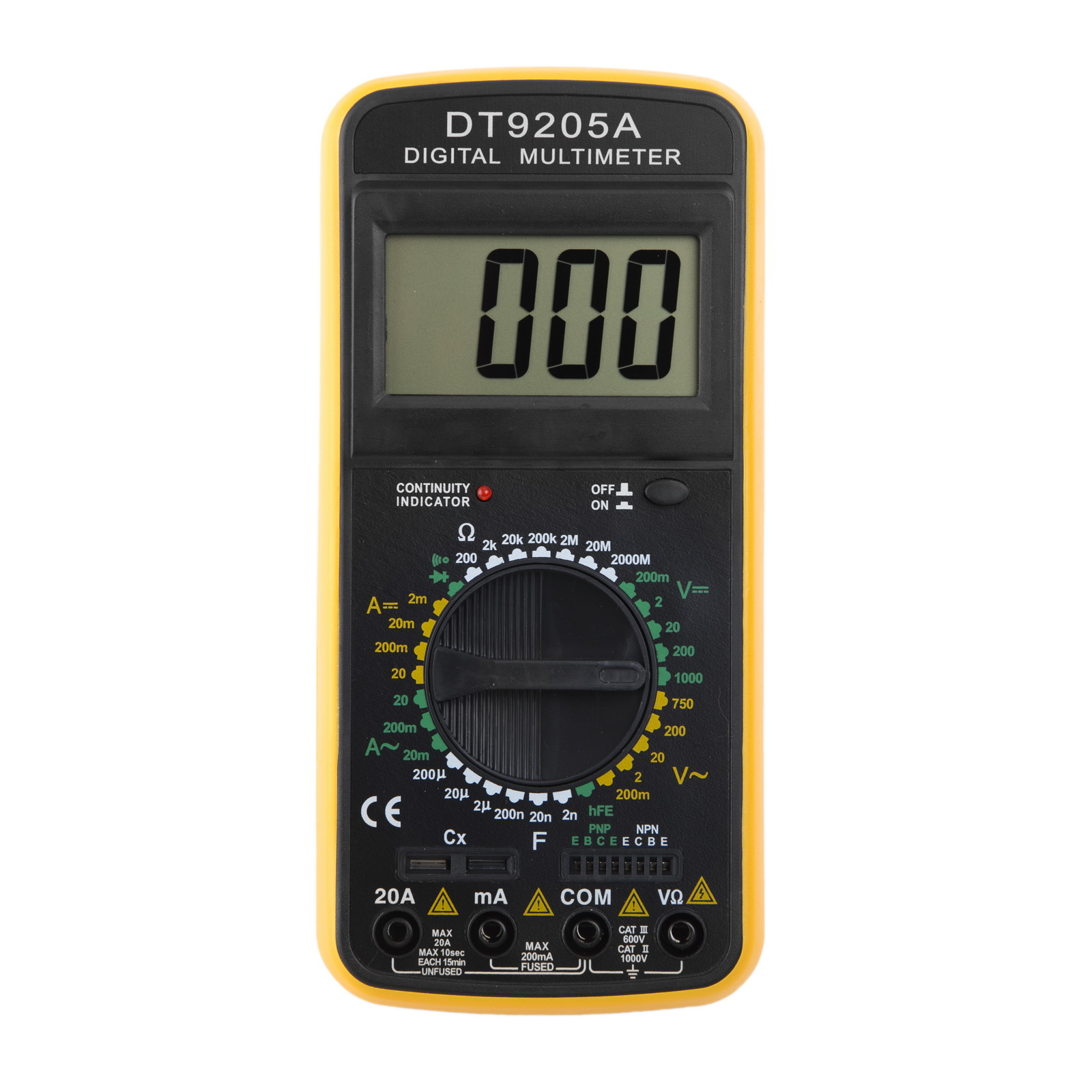 Мультиметр цифровой РЕСАНТА Dt9205a цифровой dt9205a lcd display voltage current resistance capacimeter multimeter w leads
