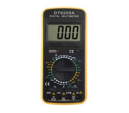 Мультиметр цифровой TEK Ресанта DT-9205A