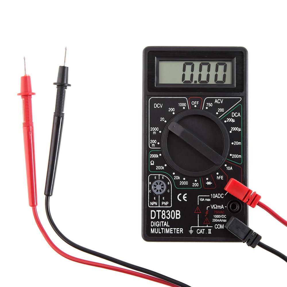 Измерительные инструменты—Мультиметры (тестеры).  Ресанта Dt830b Мультиметр Ресанта.