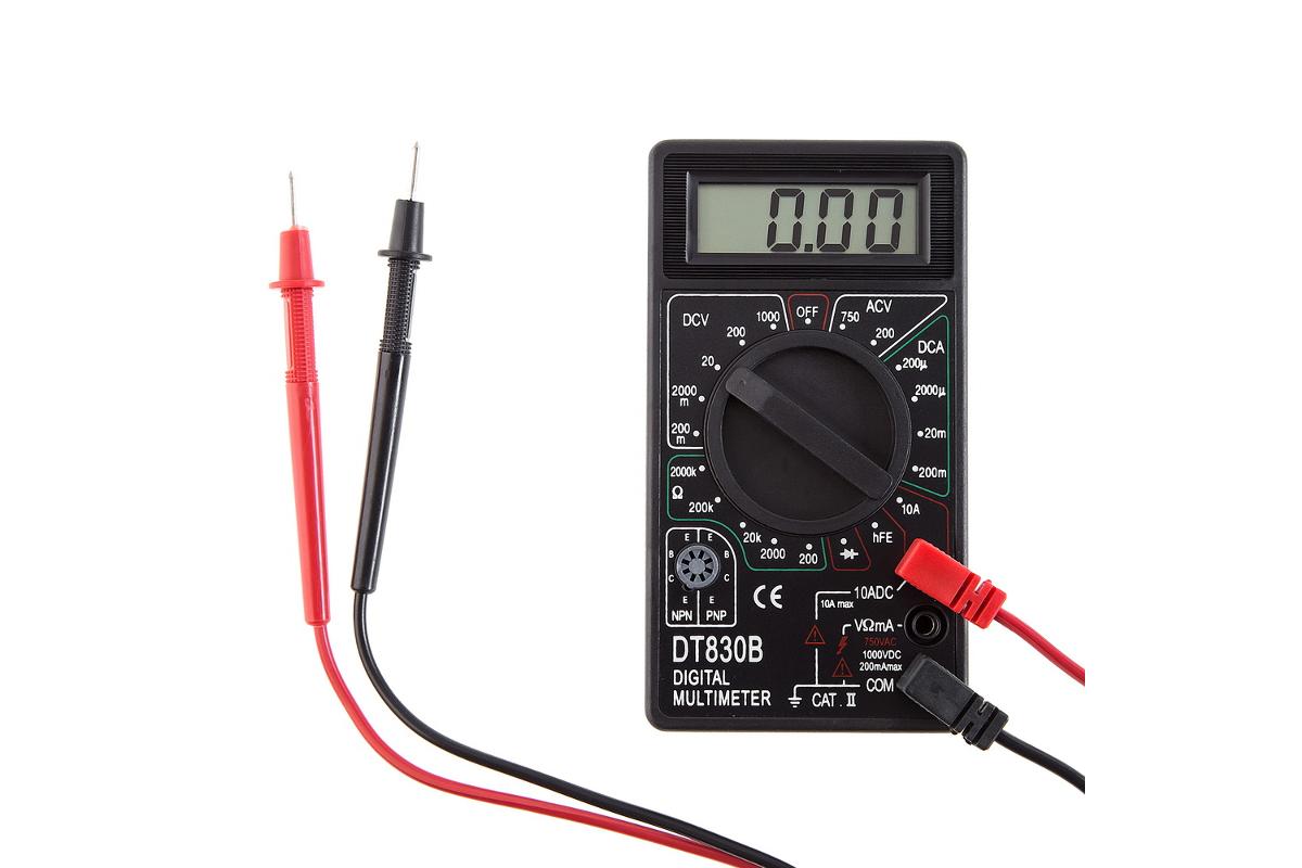 схема мультиметр dt 830 b инструкция