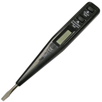 Отвертка индикаторная РЕСАНТА 6878-28ns  тестер напряжения цена и фото