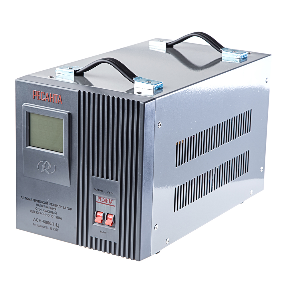 Стабилизатор напряжения РЕСАНТА АСН-8000/1-Ц цены онлайн