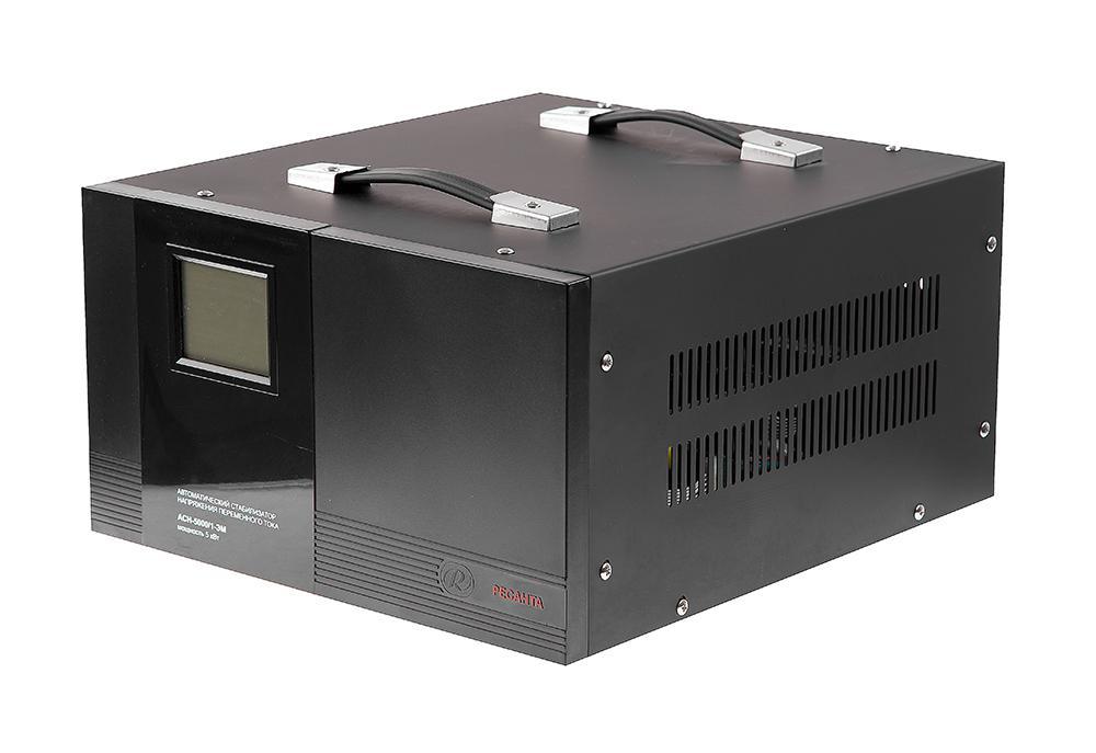 Стабилизатор напряжения РЕСАНТА АСН-5000/1-ЭМ стабилизатор ресанта асн 3000 1 эм