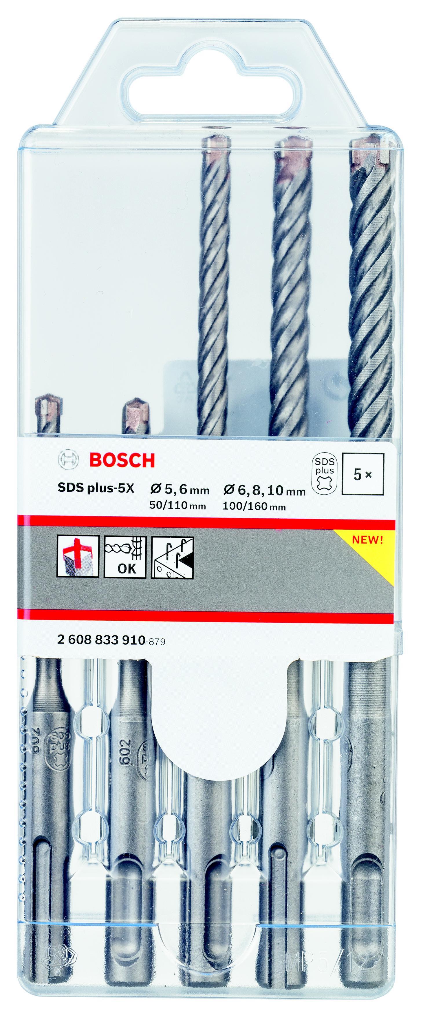 Набор буров Bosch 2608833910