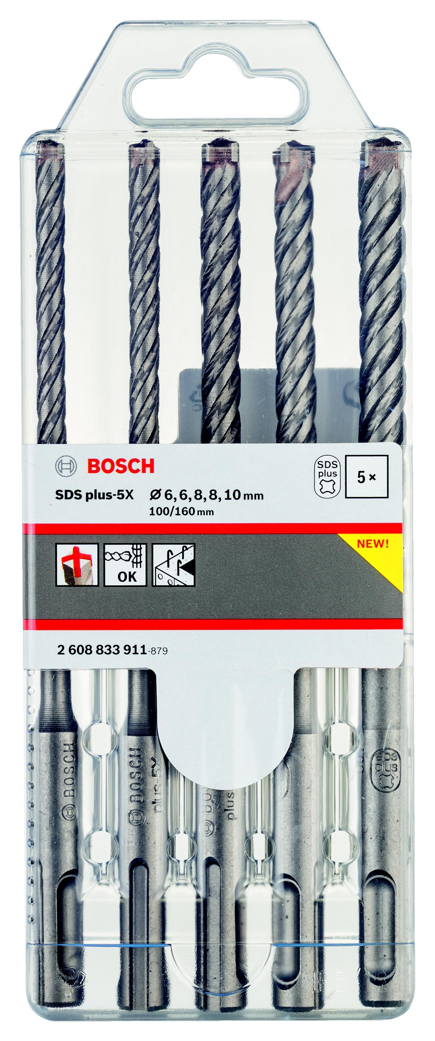 Набор буров Bosch 2608833911