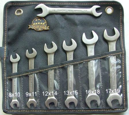 Ключ Skrab 44346 (8 - 19 мм) секатор прививочный skrab