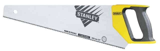Ножовка Stanley 1-20-003 stanley 1 20 002 универсальная ножовка 380 мм yellow