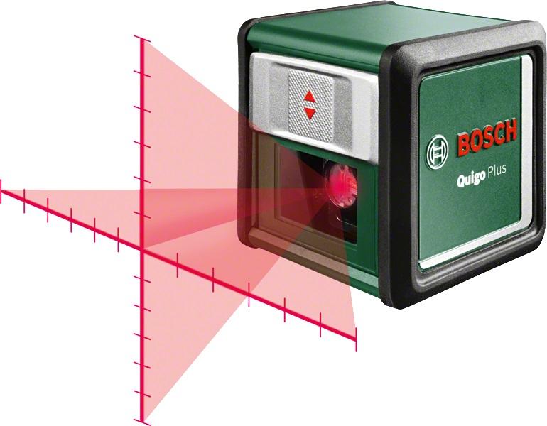 Уровень Bosch Quigo plus 0603663600 (0.603.663.600)