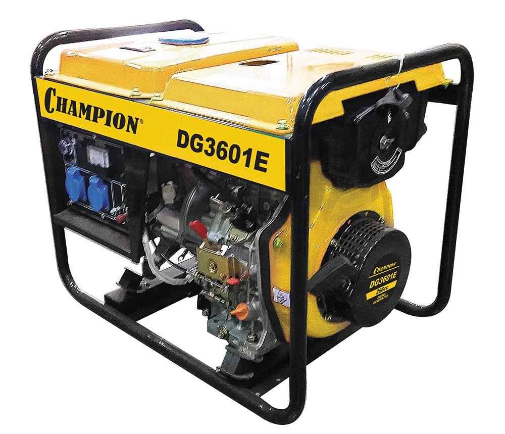 Дизельный генератор Champion Dg3601e акб champion dg3601e dg6501e dg6501e 3 c3505