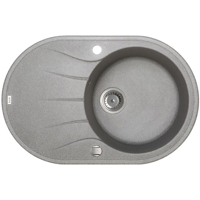 Мойка кухонная Iddis K12g771i87 смеситель для мойки 201 высокий однорычажный серый polygran полигран