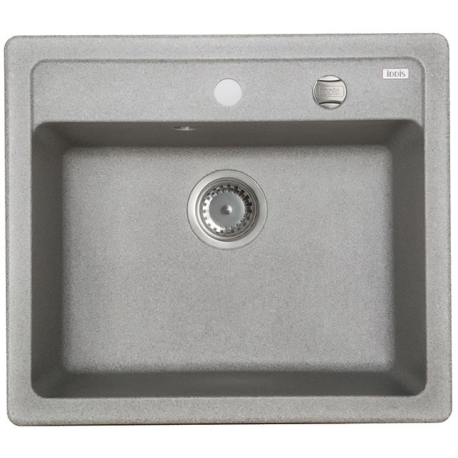 Мойка кухонная Iddis V02g571i87 смеситель для мойки 201 высокий однорычажный серый polygran полигран