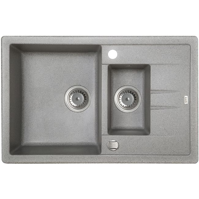 Мойка кухонная Iddis V17g785i87 смеситель для мойки 201 высокий однорычажный серый polygran полигран