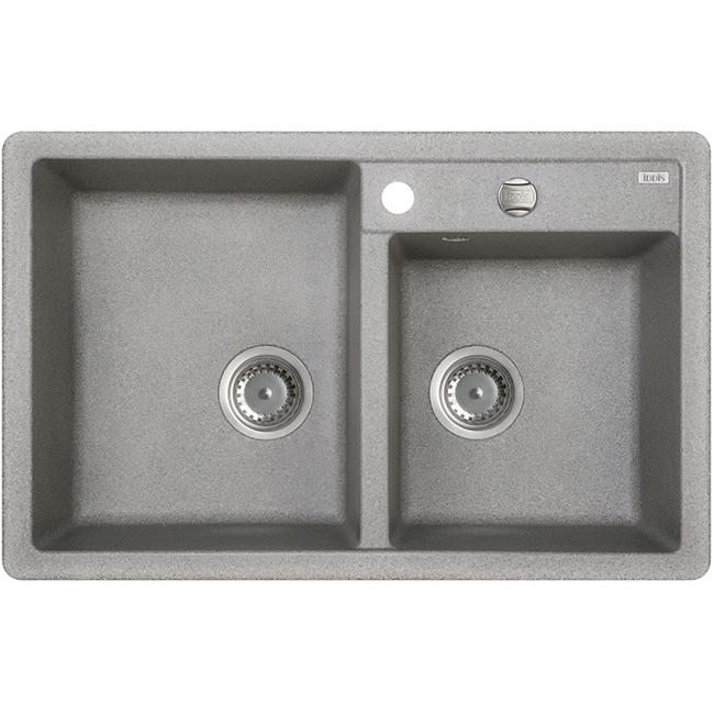Мойка кухонная Iddis V22g782i87 смеситель для мойки 201 высокий однорычажный серый polygran полигран