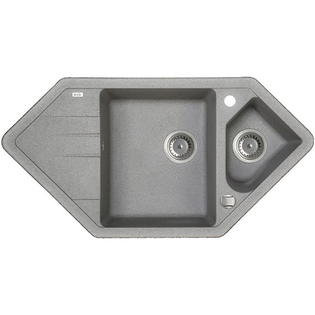 Мойка кухонная Iddis V27g965i87 смеситель для мойки 201 высокий однорычажный серый polygran полигран