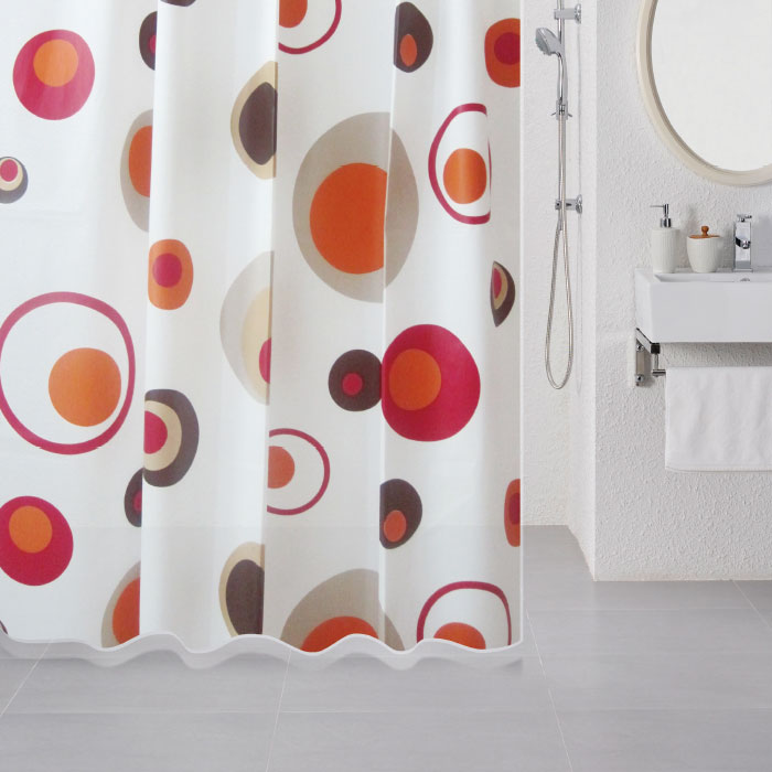 Штора для ванной комнаты Milardo 503v180m11 штора для ванной комнаты milardo lovely phantom 503v180m11