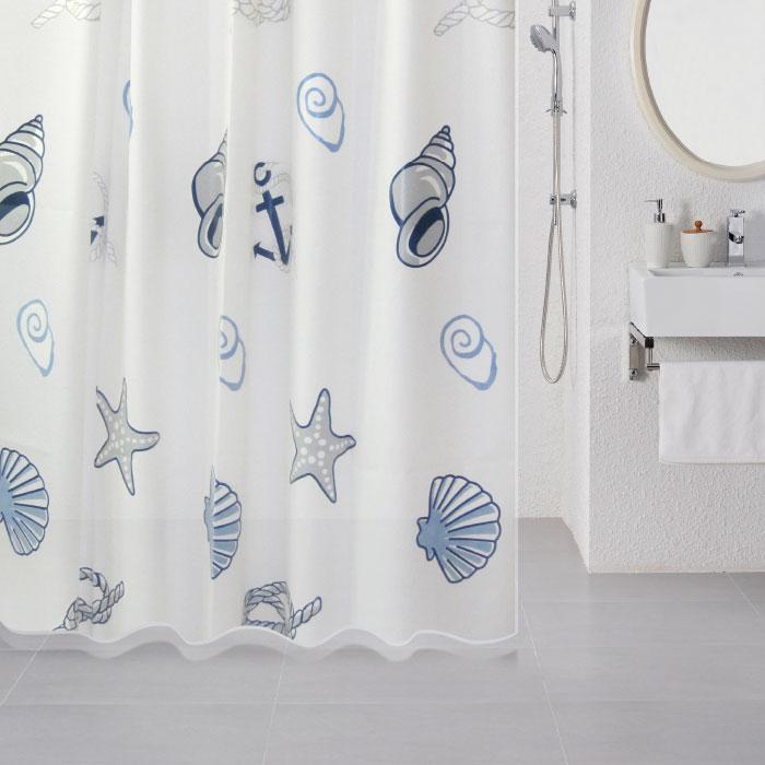 Штора для ванной комнаты Milardo 508v180m11 штора для ванной комнаты milardo 535v180m11