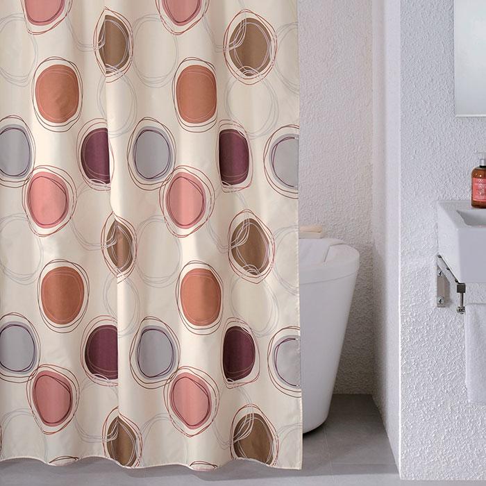 Штора для ванной комнаты Milardo 690p180m11 штора для ванной комнаты milardo lovely phantom 503v180m11