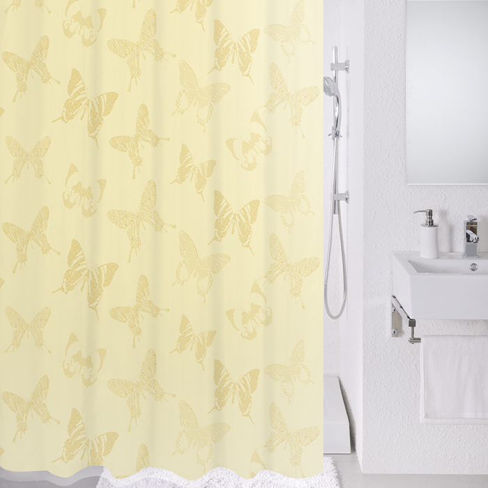 Штора для ванной комнаты Milardo 770p180m11 штора для ванной комнаты milardo lovely phantom 503v180m11