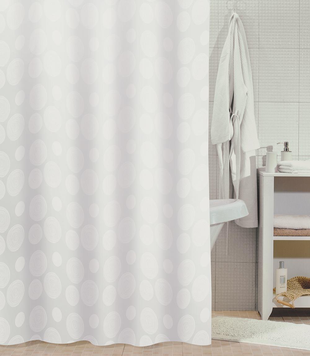 Штора для ванной комнаты Milardo 810p180m11 штора для ванной комнаты milardo lovely phantom 503v180m11