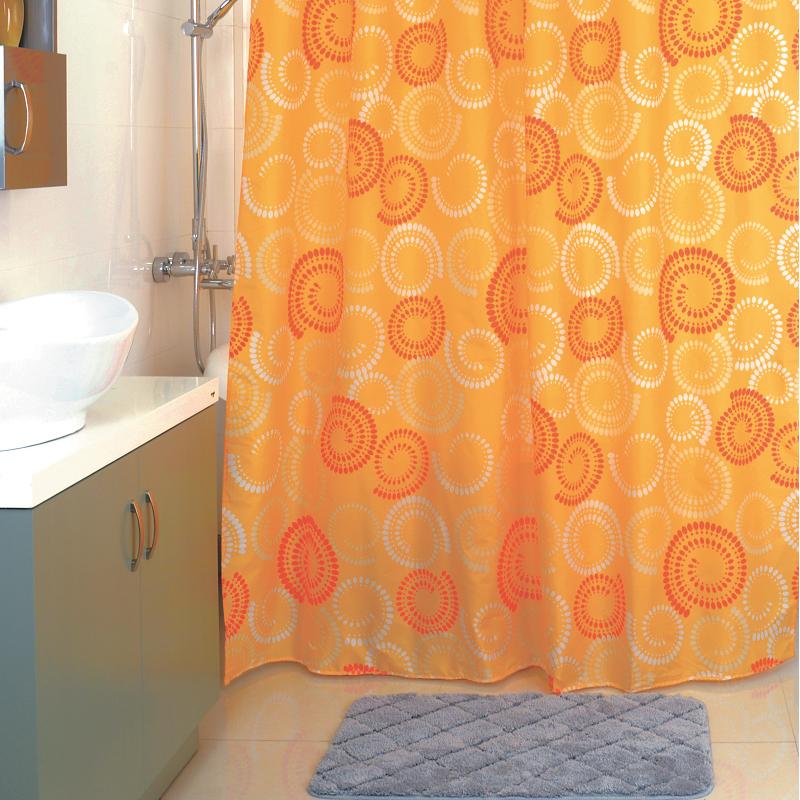 Штора для ванной комнаты Milardo 860p180m11 штора для ванной комнаты milardo lovely phantom 503v180m11