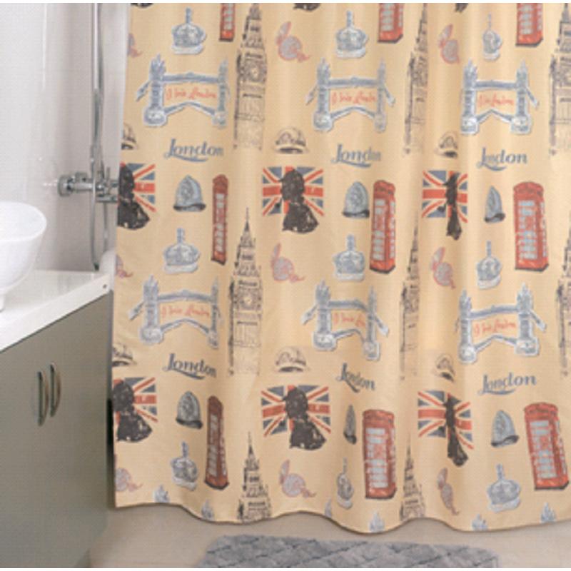 Штора для ванной комнаты Milardo 870p180m11 milardo amur amusb00m01